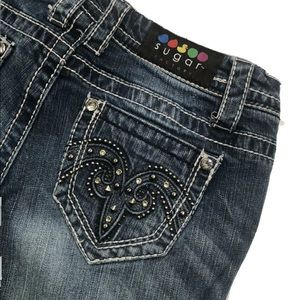 Sugar Factory Limited Edition Jeans 27 X 32 EUC